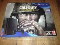 Playstation 4 slim Call of Duty version with 3 games Brand New/Still Sealed