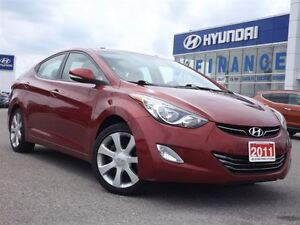 2011 Hyundai Elantra Limited | LEATHER | SUNROOF | ALLOYS |