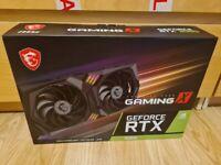 MSI GeForce RTX 3060 GAMING X 12GB GDDR6 Graphics Card