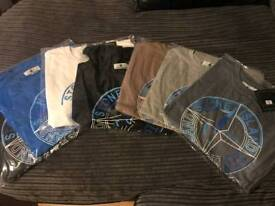 2 for £15 Stone island t shirts NOT Moncler. Armani. Gucci. Lacoste.
