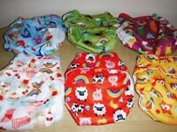 WONDEROOS V3 BABY NAPPIES. REUSABLE. BRAND NEW. NOT SWIMMING NAPPIES.