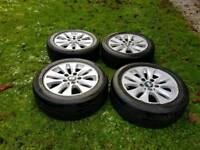 """BMW 16"""" Alloys and Tyres 116 118 120 316 318 320"""