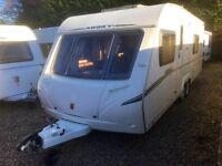 Abbey Caravan 620 Vouge (2009) motor mover. like hobby/tabbert/fendt
