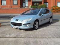 06 PEUGEOT 407 SW 2.0 HDI X-LINE + AUTOMATIC DIESEL ESTATE +