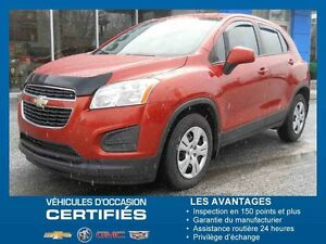 2014 CHEVROLET TRAX FWD LS CROSSOVER LS Crossover