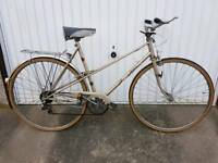 Raleigh Misty Ladies Town Bicycle For Sale in Great Riding Order