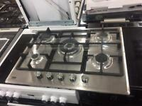 5burner 70cm Gas Hob **NEW NEW** warranty included Ovens available in stock singe and double
