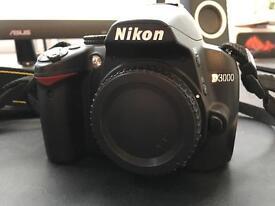 Nikon D3000 Starter Kit