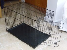 Metal Dog Cage with tray