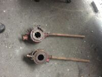 Pair Of Large Industrial Pipe Threaders- delivery or collection