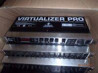 Behringer Virtualizer Pro Dsp2024P - High-Performance 24-Bit Multi-Engine Effects Processor