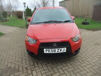 Mitsubishi Colt CZ2 , 2008, 5 door hatchback,two previous owners withy service history.