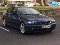 2003 BMW 330D SE * 4 DR * AUTOMATIC * 16 SERVICE STAMPS * LONG MOT * LEATHER * PART EX * DELIVERY