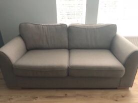 Excellent condition Slate DFS sofa. 6months useage