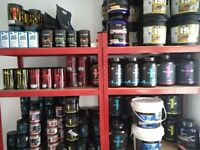 supplements store for sale