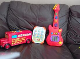 Music toys in very good condition