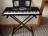 Yamaha YPT230 Keyboard, Stand & Stool