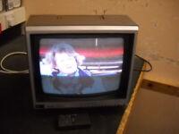 Triumph 14inch CRT TV
