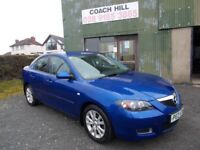 "MAZDA 3 TS2 SALOON ""12 MONTHS MOT"" IMMACULATE CONDITION MUST BE SEEN AND DRIVEN"