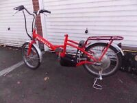 HONDA KUSHI ECO ELECTRIC BIKE FOR SPARES OR REPAIR EASY PICK UP COST £600...RIDE HOME