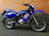 Rieju MRX125 2015 65 Plate Blue.