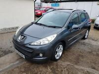 2009 Peugeot 207 SW 1.6 VTi Sport with full service history