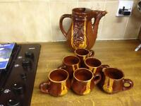 Jug with Six cups