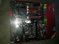 ASUS MAXIMUS IV EXTREME-Z LGA1155 with Intel i7 2600K EK waterblock 16 gb ram