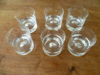 Dartington crystal tumblers (Set of 6 )