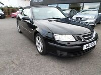 2006 SAAB 9-3 VECTOR CONVERTIBLE DIESEL FULL SERVICE LONG MOT
