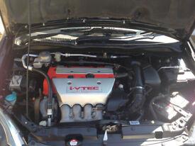 honda civic type R 04 rega/c model facelift2.0ltr 6 speed 200 bhp 83k NHBLACK