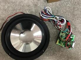 Car/Home Custom Built Subwoofer Speaker and Amplifier