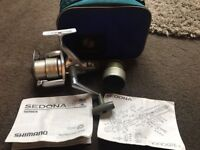 Shimano Sedona 4000GTE Fishing Reel w/ Spare Spool, Instructions & Original Bag