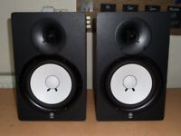 Pair of Yamaha HS80M Active Monitoring Speakers - Perfect Working Order