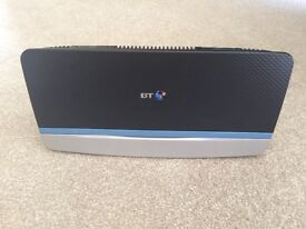 BT Broadband Home Hub 5 wireless router with cables and ADSL filter
