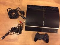 Sony PS3 80gb in Good Condition with games & Controller