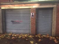 2 x lock up garages / stores for let