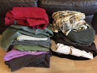 Large Ladies Clothes Bundle - 23 Items - Sizes 8-12