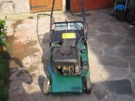 Hayter 48 key start lawnmower