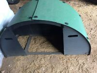 Green Frog Design Small field shelter - good for poultry - very little use