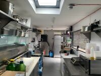 KITCHEN AVAILABLE FOR HIRE, IDEAL FOR PIZZAS / SUCHI HOT OR COLD / PREP ETC