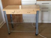 Freestanding Kitchen centre island trolley