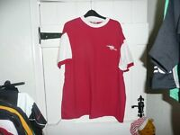 Arsenal EX/XXL LARGE HOME Football Shirt 1970's TOFFS Chest Size 52