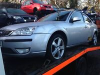 2007 Ford Mondeo MK3 2.0 TDCI 130 titanium 5dr stardust silver BREAKING FOR SPARES
