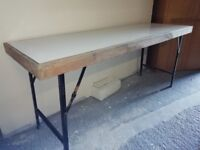 Folding tables for boot sales, markets, banquets etc very sturdy and strong. 22 available