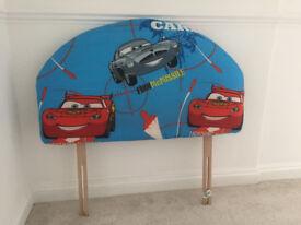 Disney Lightning McQueen Single Bed Headboard. Fits any single bed!