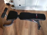 Weight bench barely used excellent condition