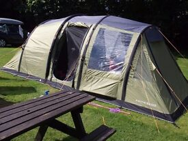 Vango Infinity 600 Airbeam Tent with Carpet and Footprint