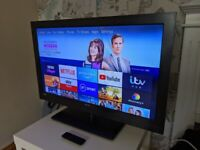 32 inch Bush TV with Fire stick