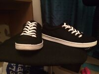 Size 6 New Look Black Trainers